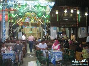 فى الحسين بعد الفطار